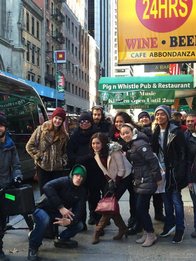 PHOTOS: Kim and Xian's The Story Of Us taping in New York