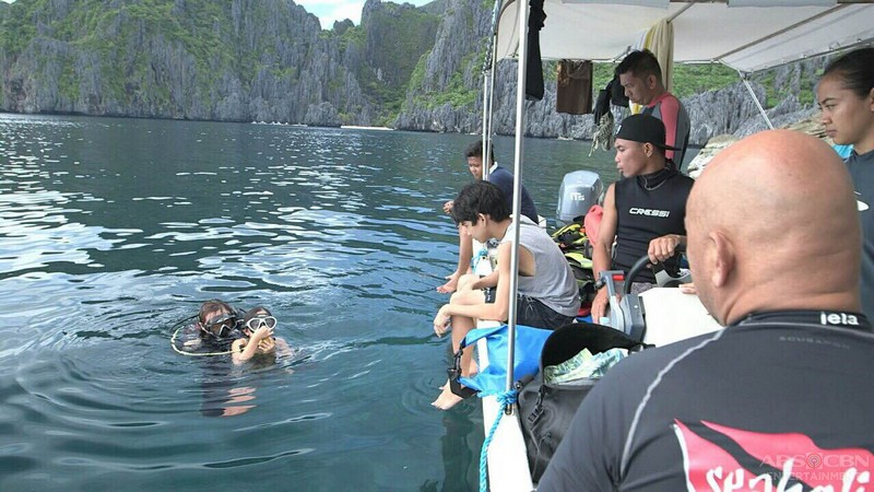Behind-the-scenes: The Story of Us cast in El Nido