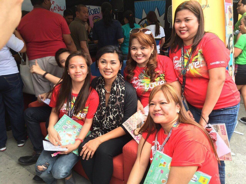 PHOTOS: Ms Princess Punzalan at the ABS-CBN Kapamilya Fair