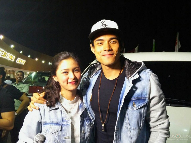 Kim and Xian on the way to Chicago