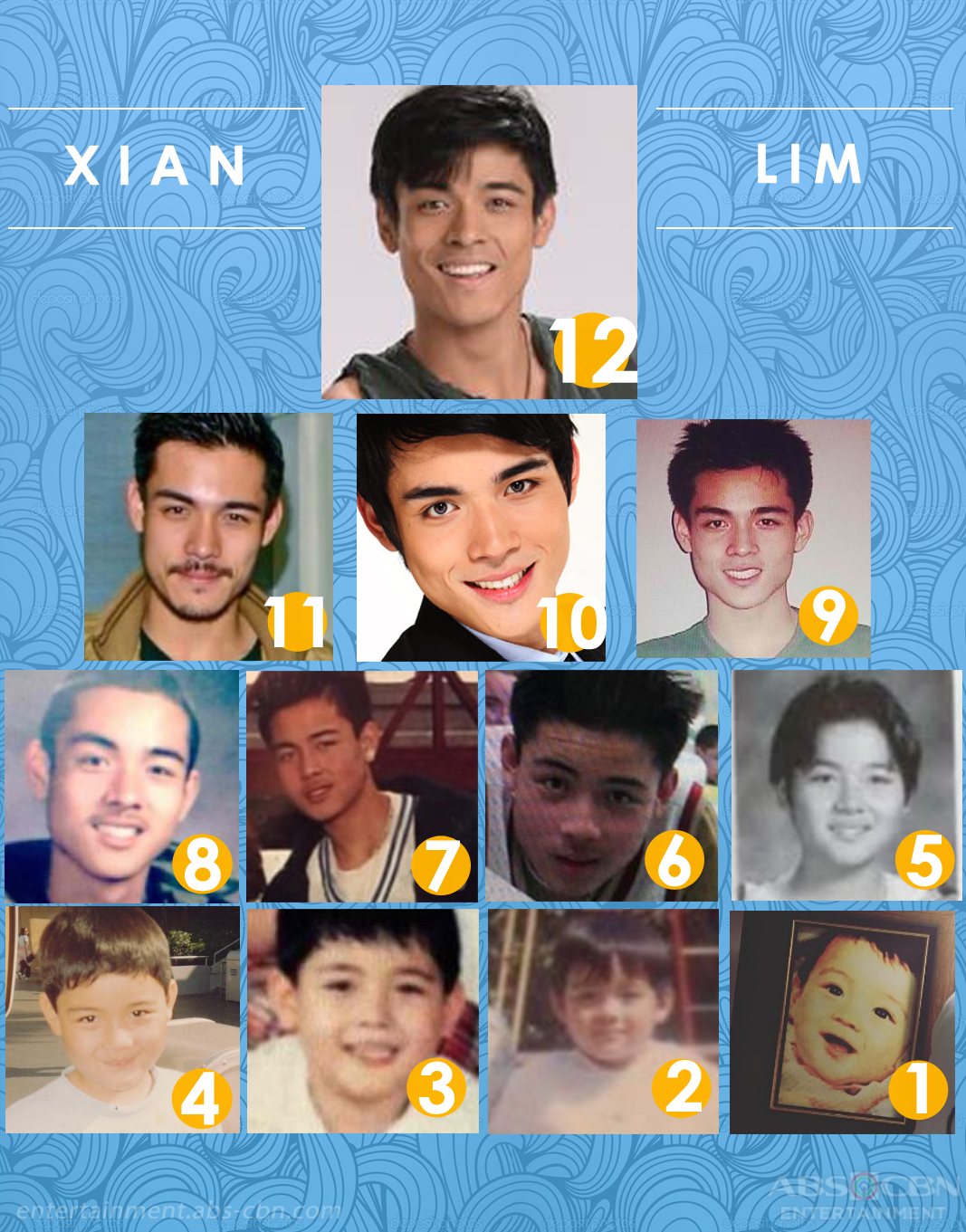 LOOK: Xian Lim through the years